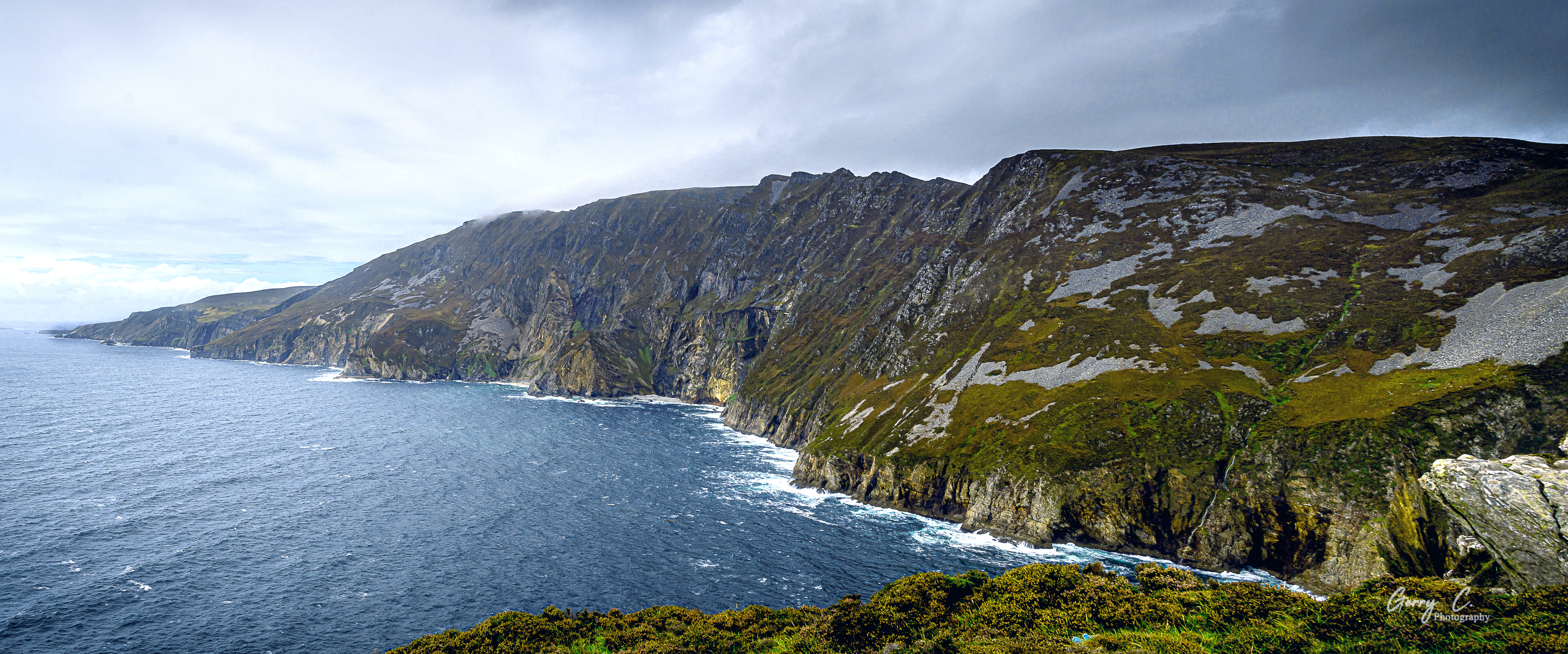 The Cliffs at Slieve League, Co. Donegal