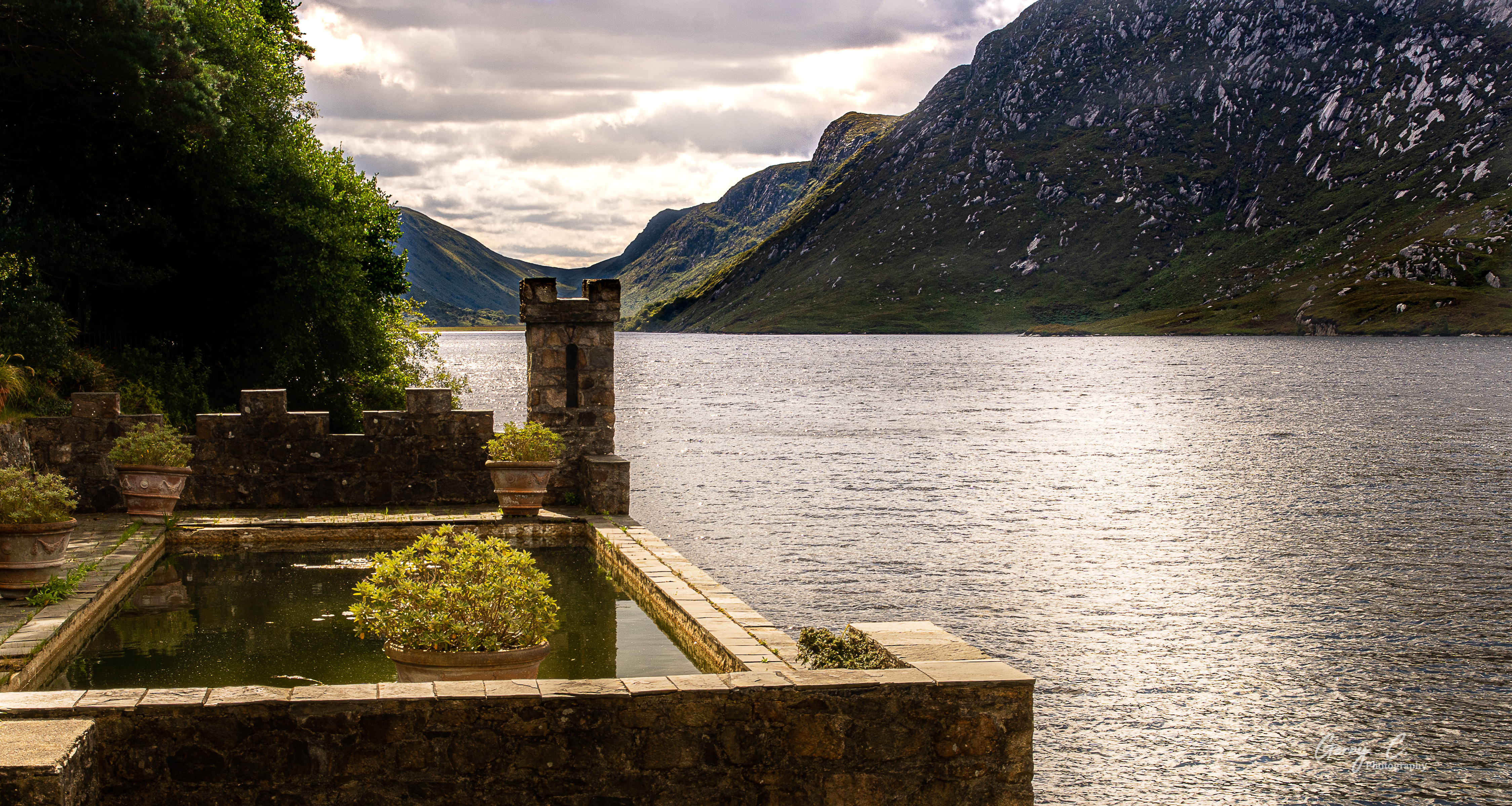 Glenveagh Lake from the Castle