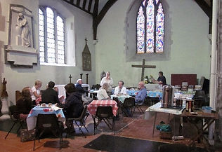 Coffee and cake at Open Day 2015