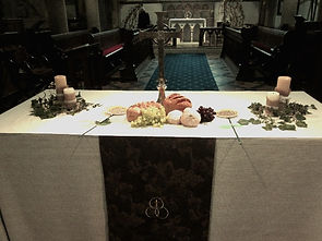 Chilham Altar at Harvest