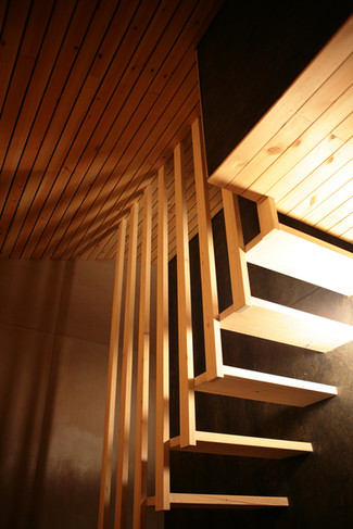 Floating Timber Staircase