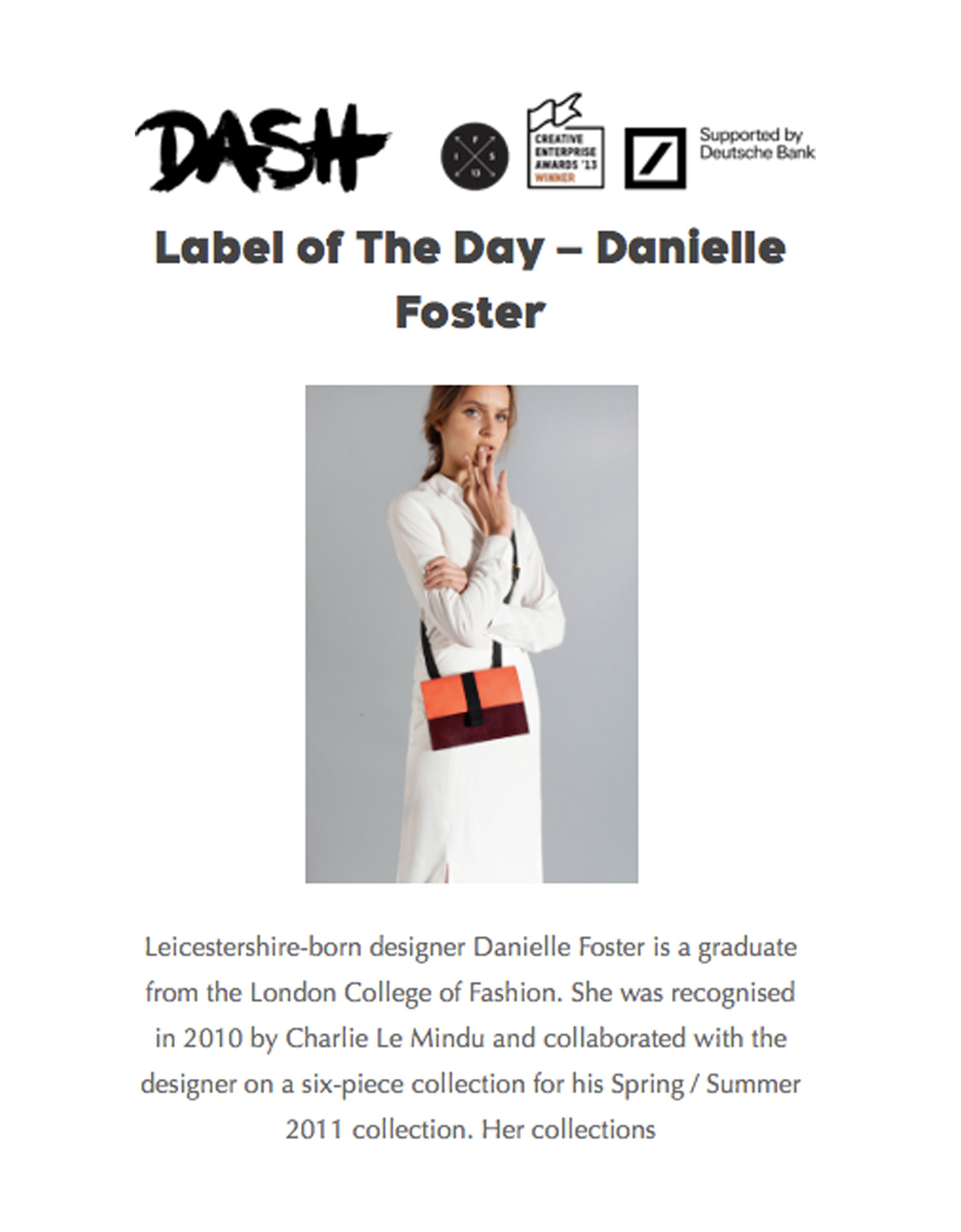 Dash - Danielle Foster