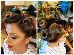 Miros Upstyle hair and makeup