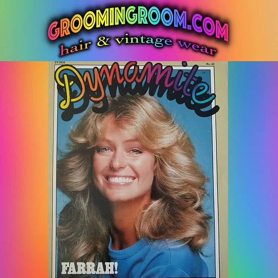 Farrah Fawcett Dynamite magazine 1976