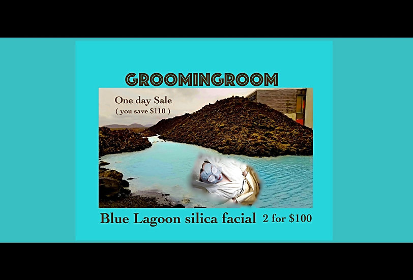 2 for 1 Blue Silica facial