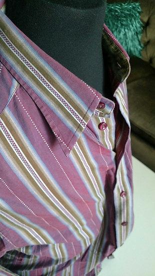 Robert Graham striped shirt