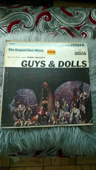 Guys and Dolls original Broadway cast