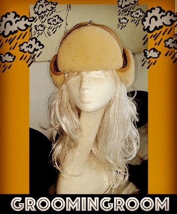Sherling Trapper Hat made by Prevost Canadian