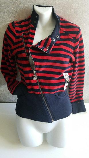 *Gsus netherlands 90's striped velour jacket