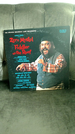 Zero Mostel Fiddler on the Roof  64 original cast