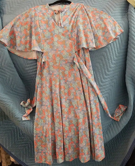 Floral 20s style dress