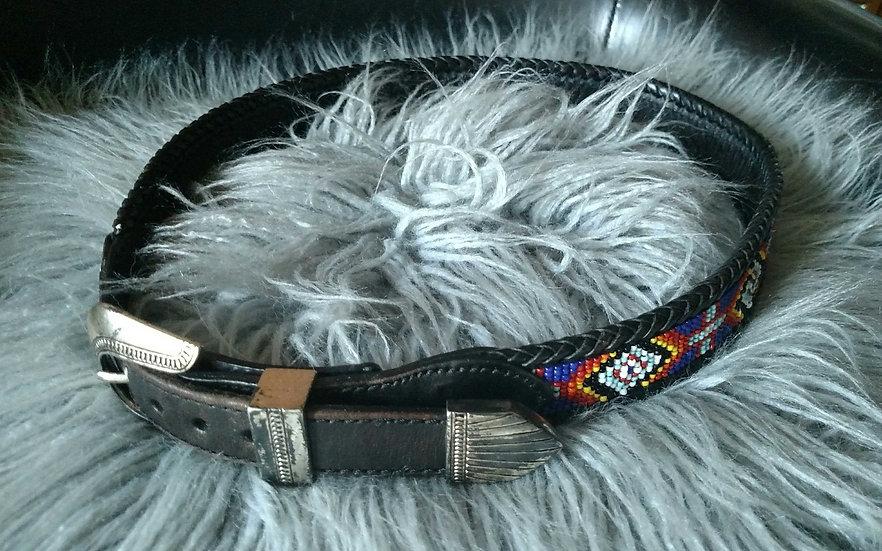 Size 30 Handmade beaded Western belt