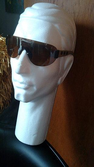 Histoire DeVoir brown handmade leather UV eyewear