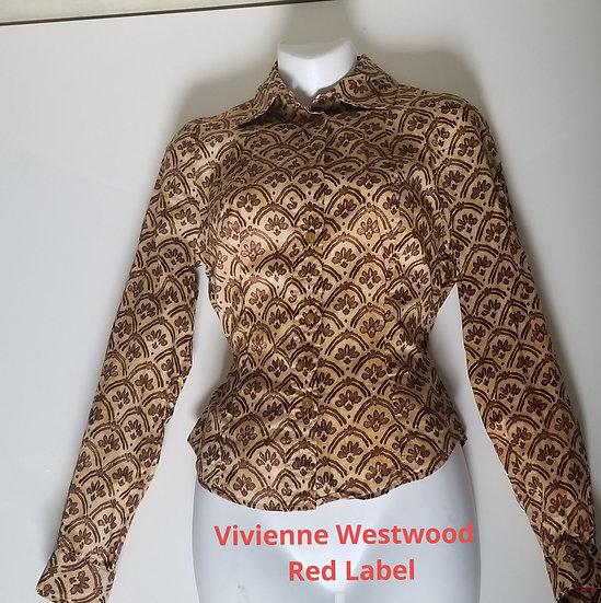 Vivienne Westwood Red Label cotton print shirt