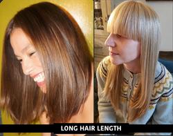 womens long hair-w or wo bangs