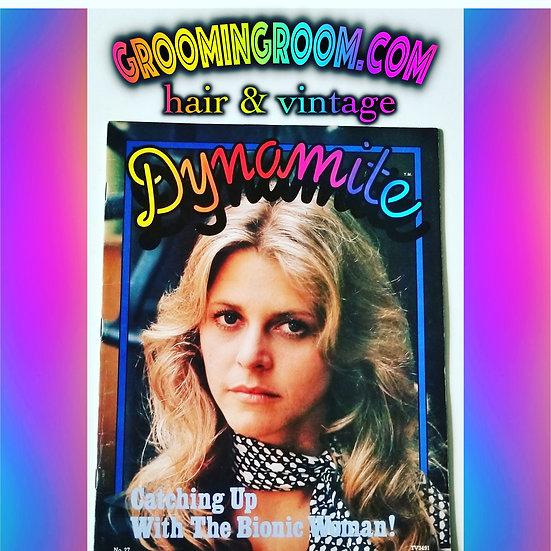 Dynamite magazine The Bionic Woman