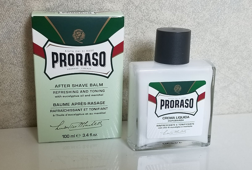 Proraso italian aftershave balm refresh 100 ml