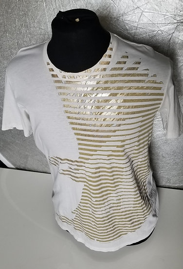 Armani Exchange mens White graphic t-shirt