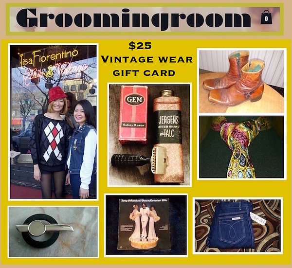 $25 Groomingroom Gift card