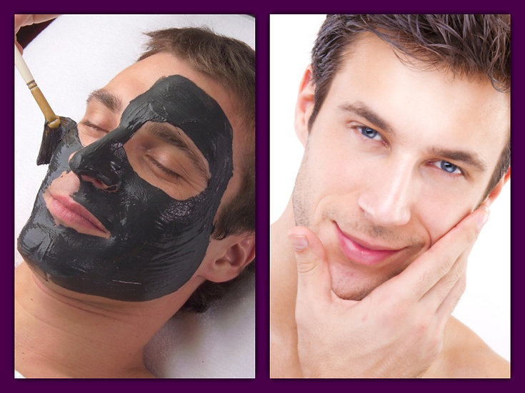 Men's one hour deep cleansing facial