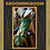 Thumbnail: Tropical silk floral tea length dress