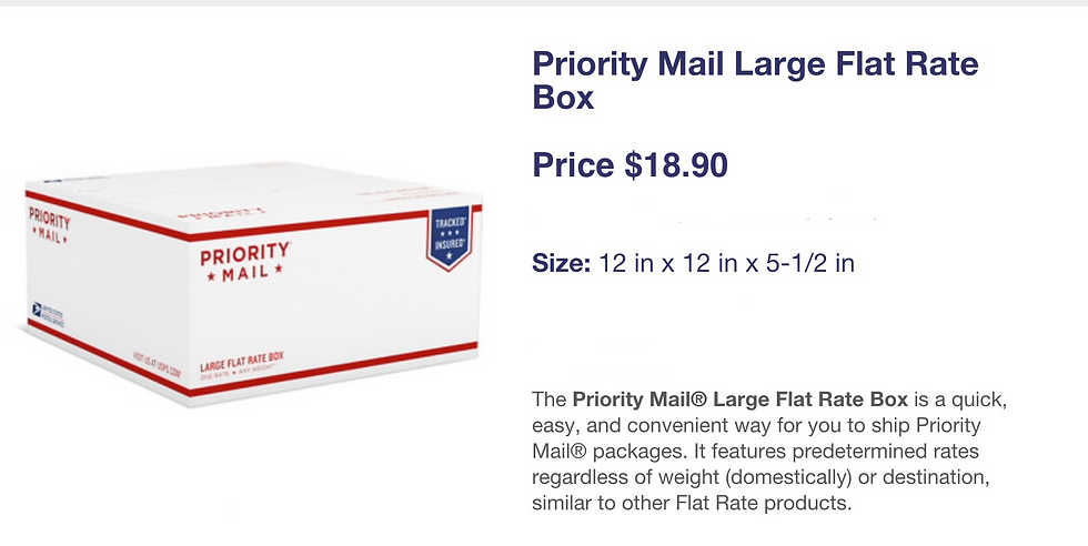 Priority Mail Large Box