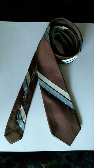 Prince consort all silk skinny tie from the 1950s