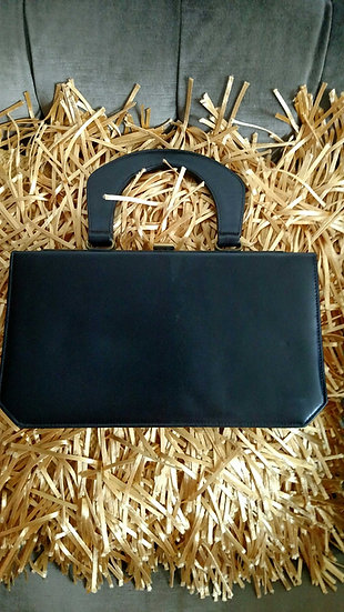 Susan Gail retro 1950's leather hand purse