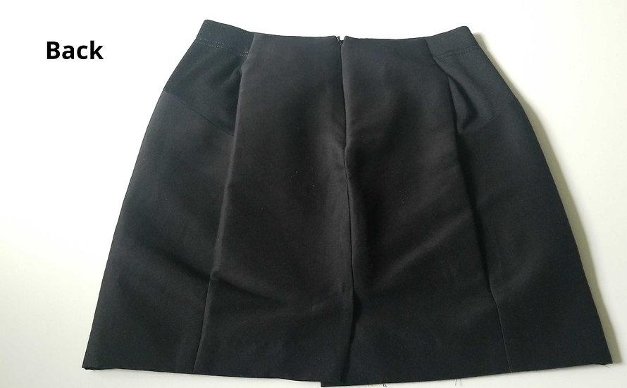 BCBG MaxAzria fitted mini skirt black