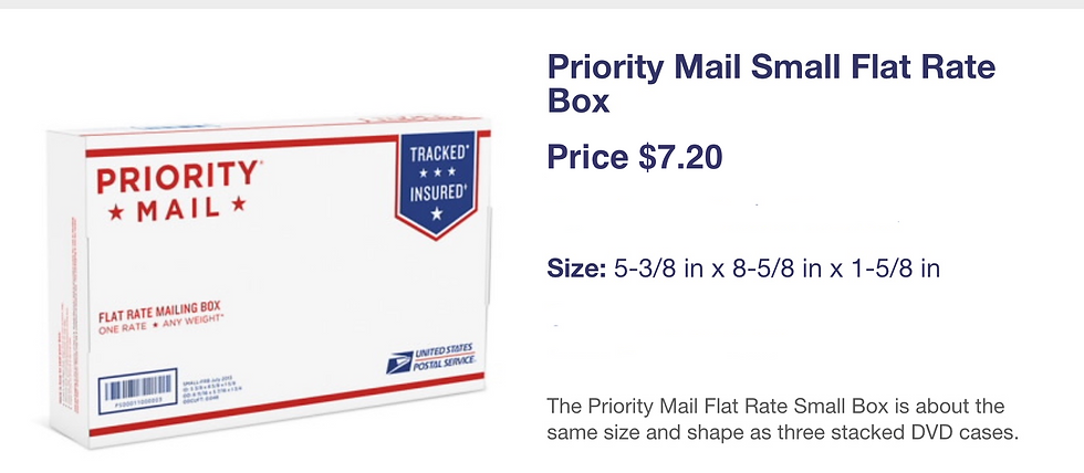 Priority small box