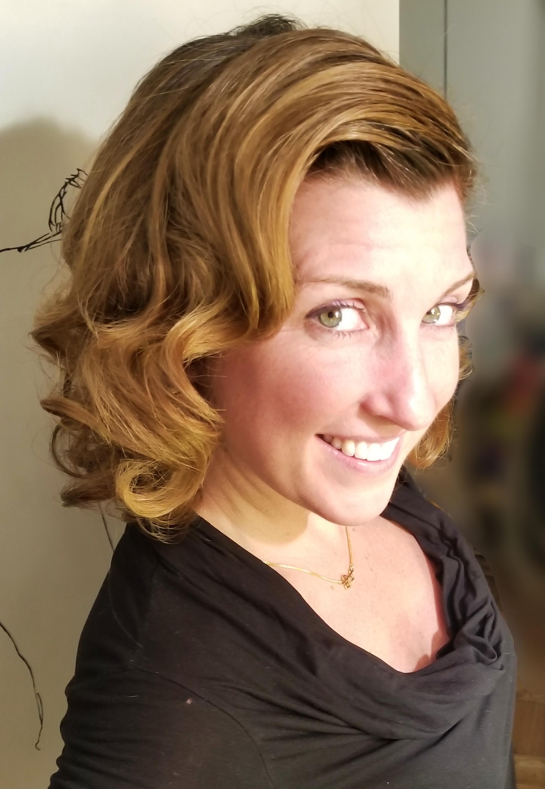 Brie 1950's Marilyn Hair