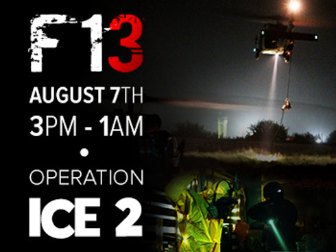 Operation ICE 2. Early bird ticket