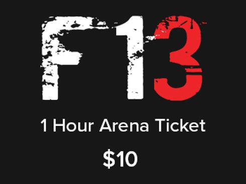 1 Hour Arena Ticket