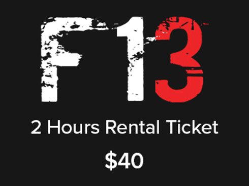 2 Hours Rental Ticket