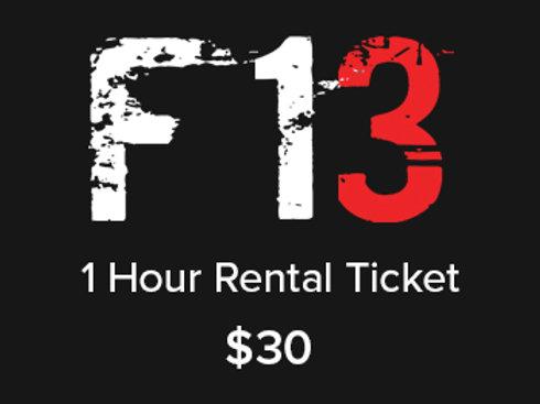1 Hour Rental Ticket