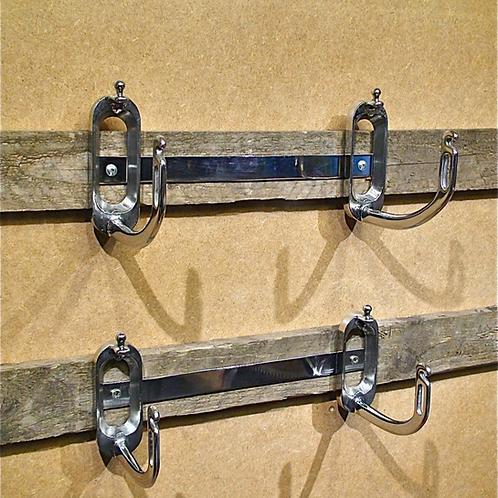 Towel Hooks, Stirrup Irons