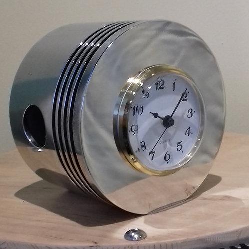 Aero Piston Desk Clock
