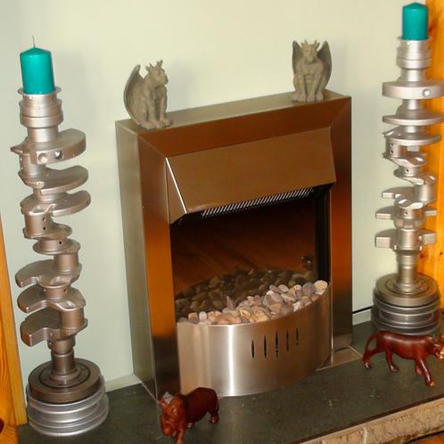 V8 Candle Sticks