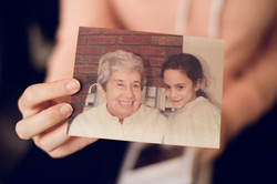 Sandy and Her grandmother
