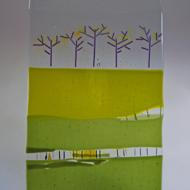 Lime trees panel