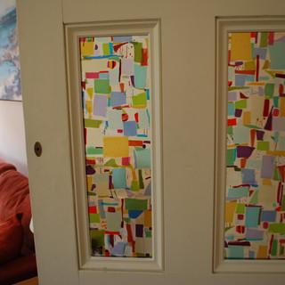 Living Room door panels
