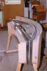 Fabrication d'une lucarne en zinc cu-ti.