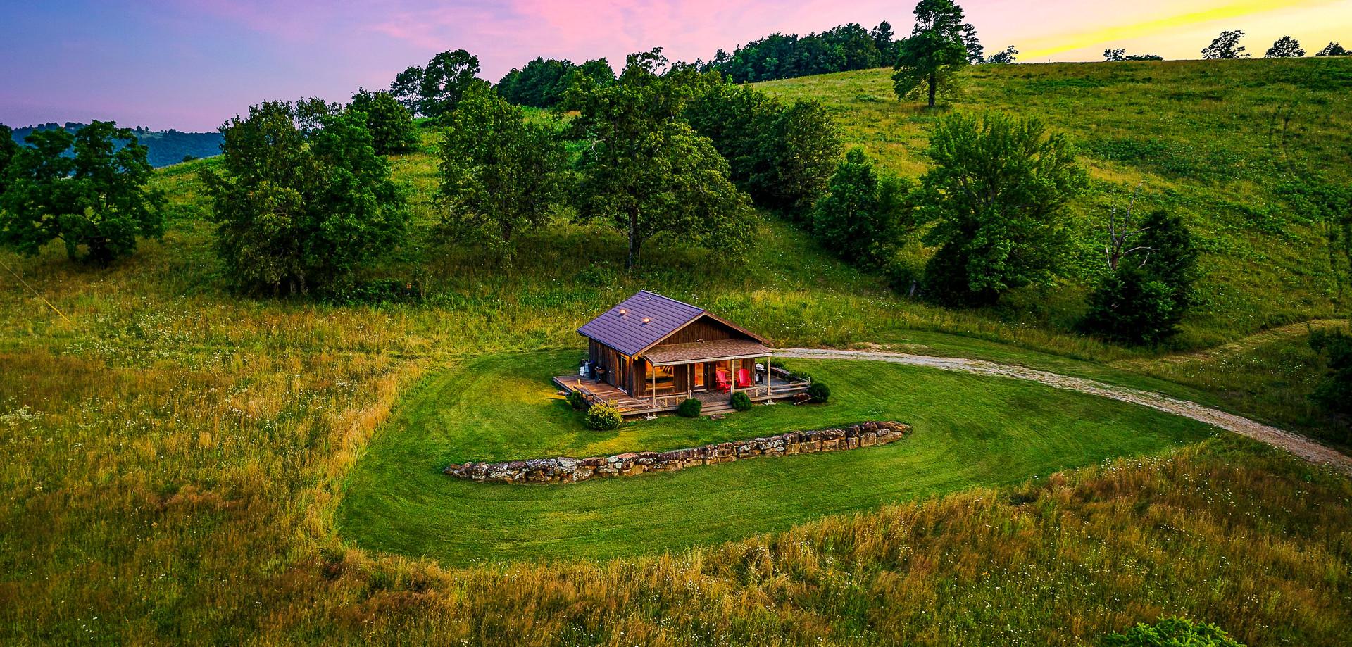 Cabin at OZK Ranch
