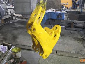 Ремонт каретки экскаватора-погрузчика CATERPILLAR 428e