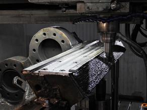 Ремонт ползуна реза пресс-ножниц AKROS 608