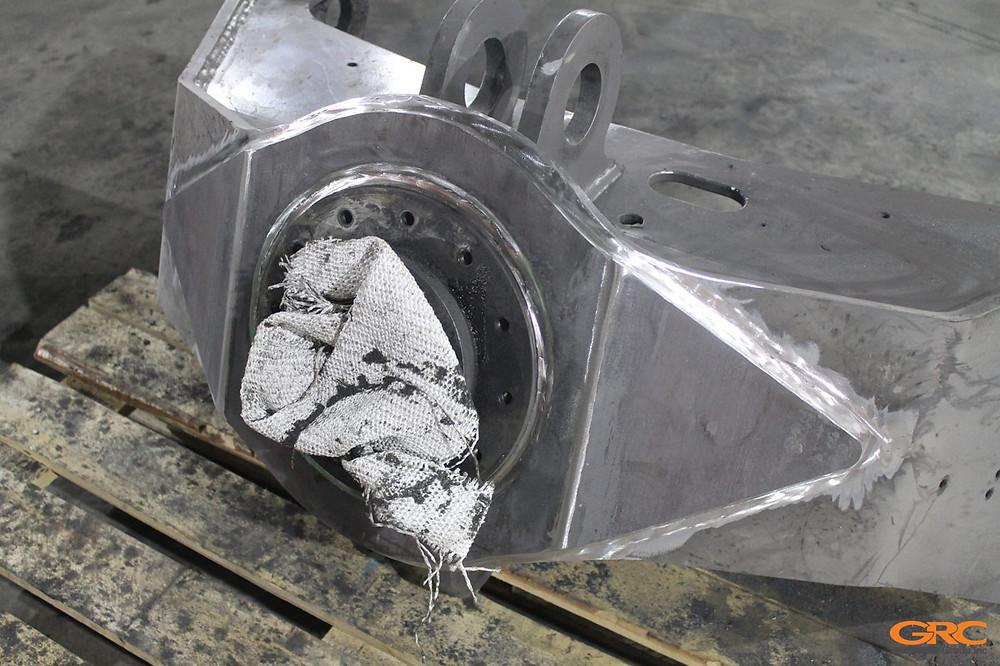 Опора ротатора VOLVO с усиливающей накладкой