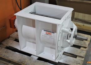 Ремонт корпуса и ротора шлюзового питателя