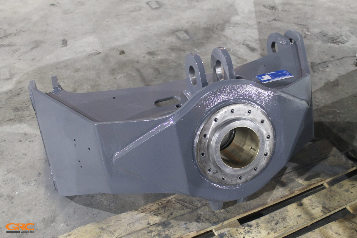 Опора ротатора колёсного погрузчика
