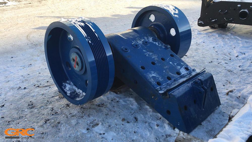 Щековая дробилка TEREX-400 после ремонта