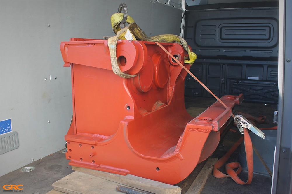 Модульный вибропогружатель после ремонта